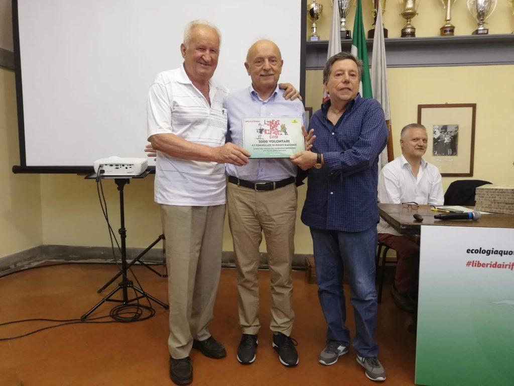 Consegna degli attestati alle sezioni soci Coop Unicoop Firenze